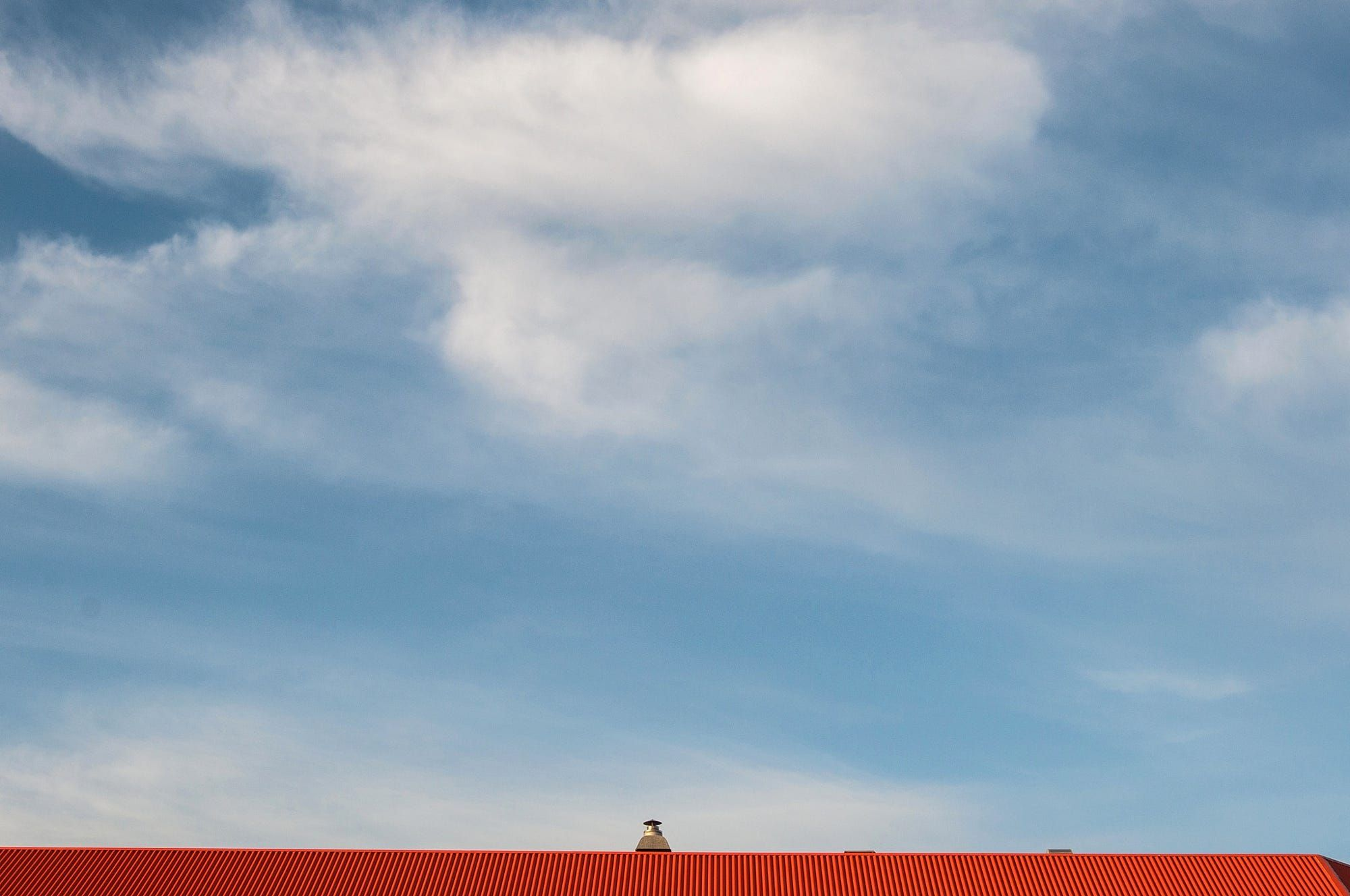 Urban Exploration: Red Roof Clouds Above by eklinger1 https://t.co/Zhej9SnHt8 | #500px #photography #photos https://t.co/V59F2BAhGa #fol #photography