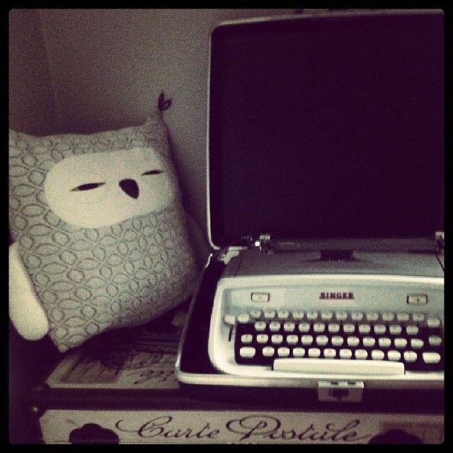 ma machine à écrire