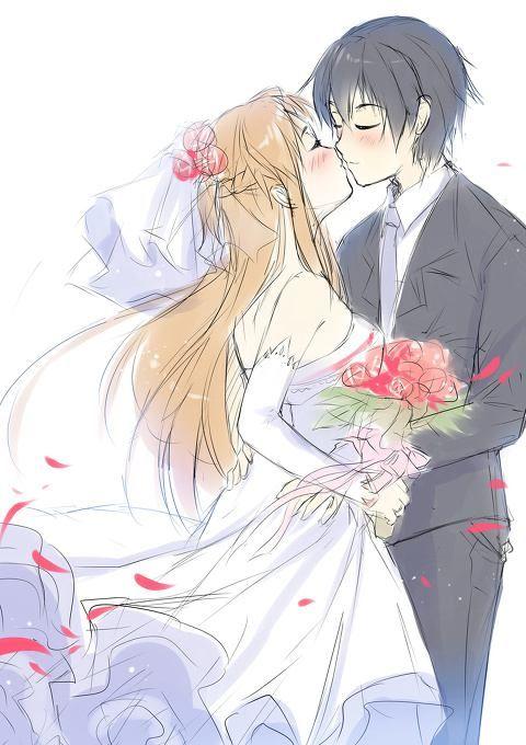 Kirito And Asuna Wedding Google Search