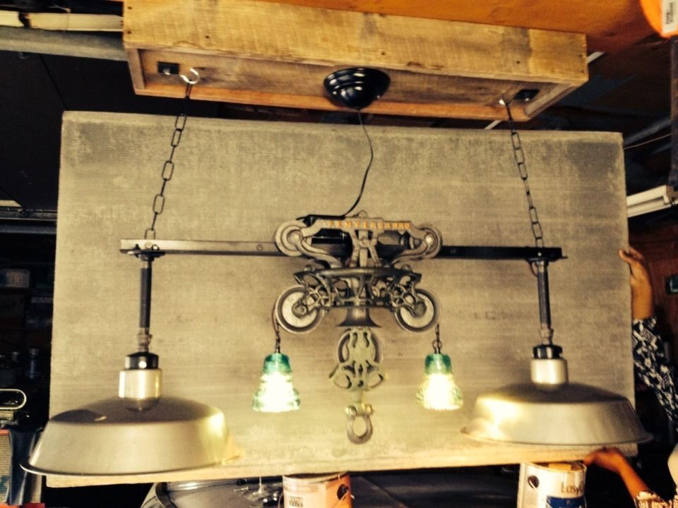 90 best Trolley images on Pinterest | Pulley, Lighting ideas and ...