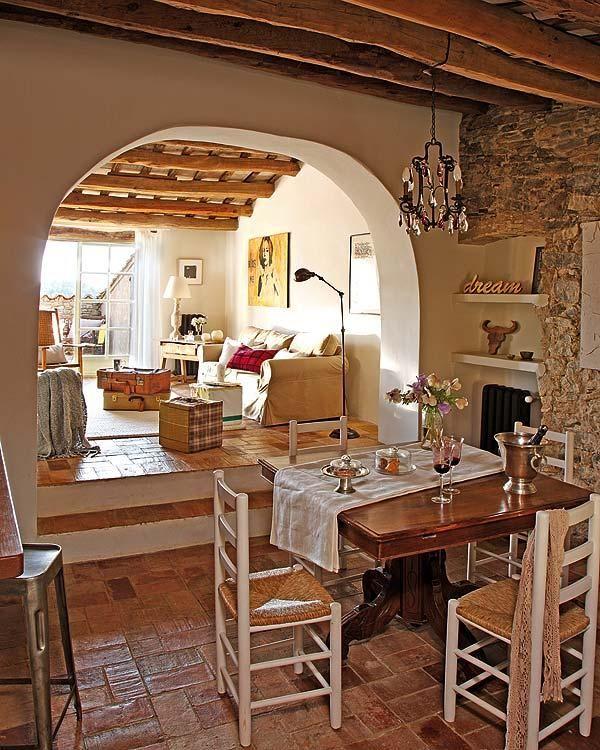 Una Encantadora Casa De Campo Restaurada Casas Rusticas De