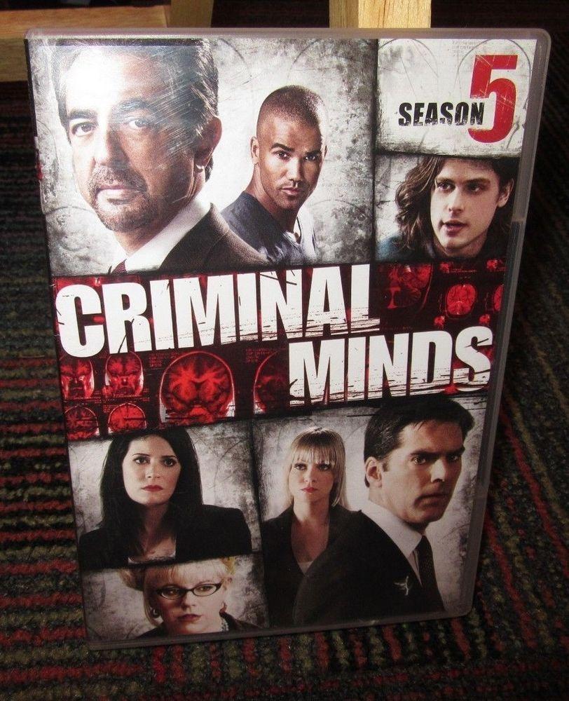 CRIMINAL MINDS: SEASON FIVE, 6-DISC DVD SET, SEASON 5, ALL