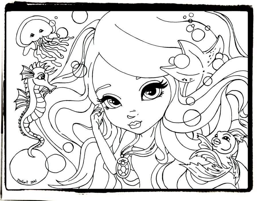Lisa Frank coloring pages free printable for girls | Coloring Pages ...