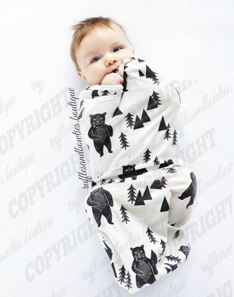 f59f4c9be Boho Backwoods Bear Infant Swaddle Sleep Sack Gown - Backwoods Bear Swaddle  - Baby Sleep Sack - Baby Bear Swaddle - Knotted Sleep Bag - infant Sleep  Sack ...