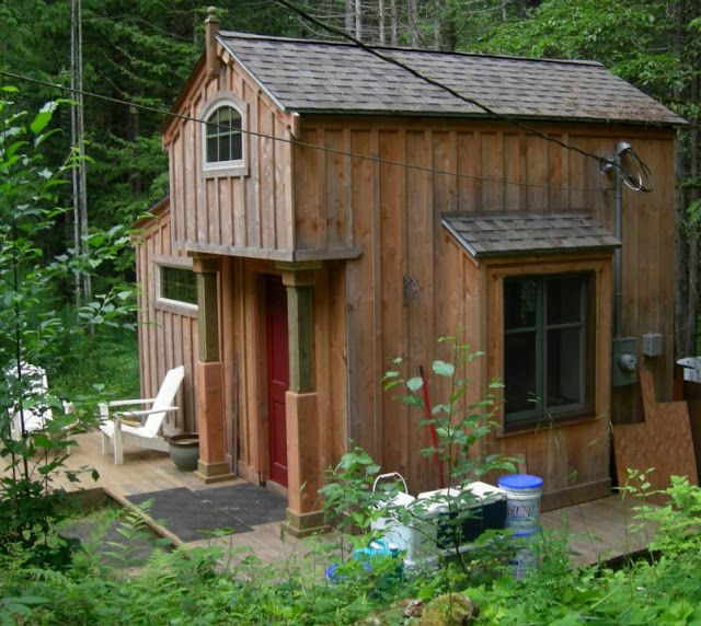 gentlemensmuse via tiny home by kirk metson on vancouver island bc tiny - Garden Sheds Vancouver Island