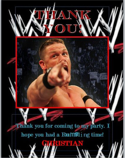 WWE Birthday Party Birthdays