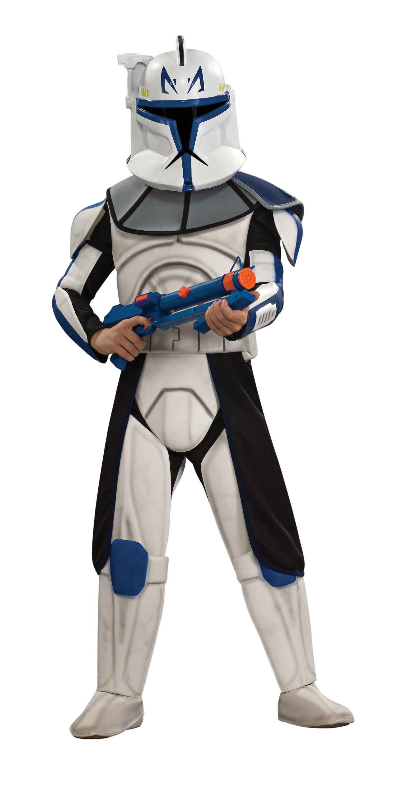 Star Wars The Clone Wars Child/'s Deluxe Costume And Mask Cad Bane Costume Med...