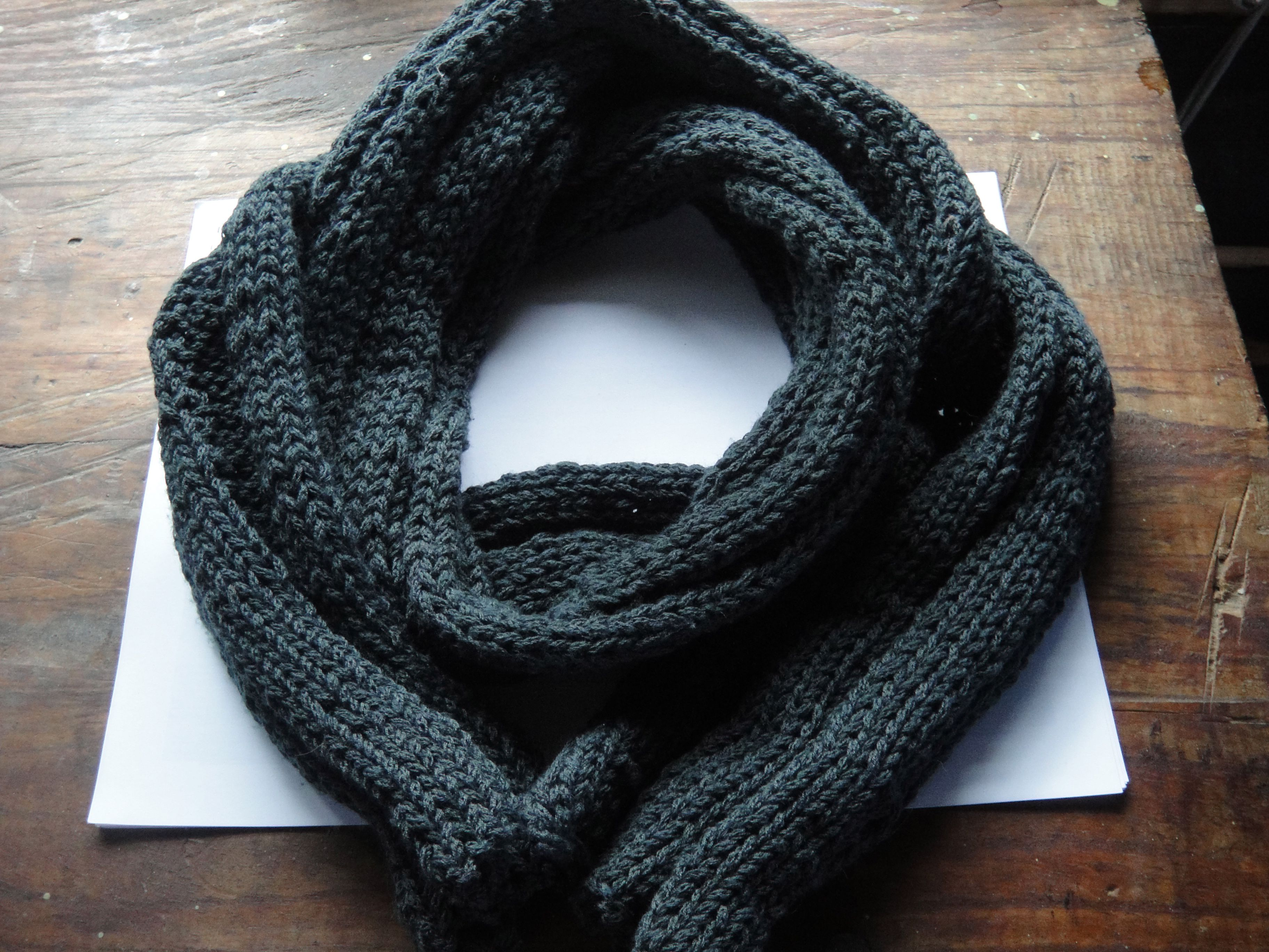 precio asombroso lujo nueva colección Bufanda para hombre, tejida con dos agujas y lana. | moda ...