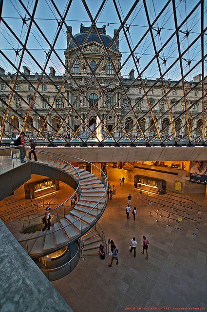Pyramide du Louvre  Paris France