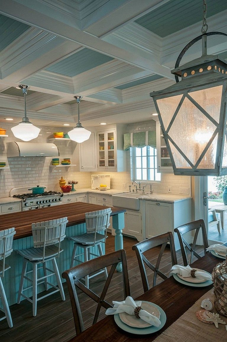 73 Extravagant Beach Cottage Kitchen Design And Decorating - Page 70 of 74 #beachcottagestyle