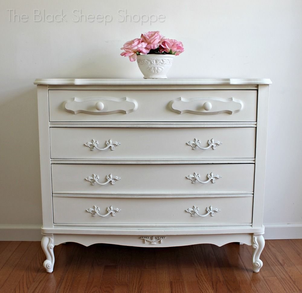 Vintage Sears Bonnet Dresser Shabby Chic Bedroom Furniture Shabby Chic Dresser Vintage Shabby Chic Bedroom [ 968 x 1000 Pixel ]