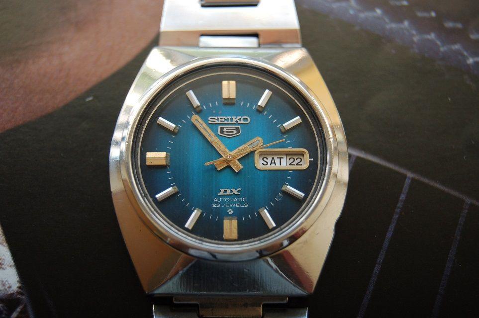 Seiko 5 Dx Vintage Vintage Wristwatch Automatic Luks Saatler Saatler Aksesuarlar