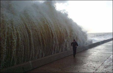 Beware the waves