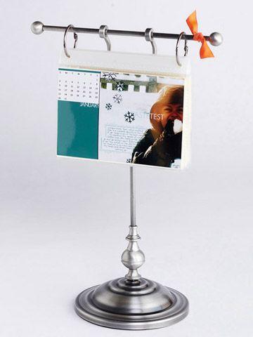 Scrapbooking Diy Desk Calendar Diy Calendar Flip Calendar
