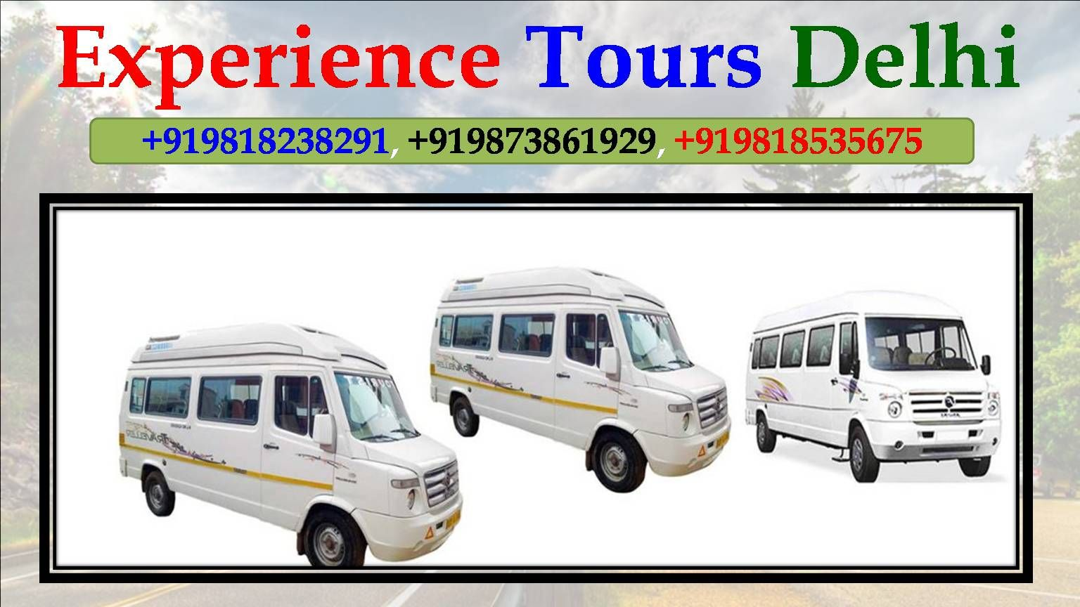 Tempo Traveller On Rent Travel Travel Agency Rent