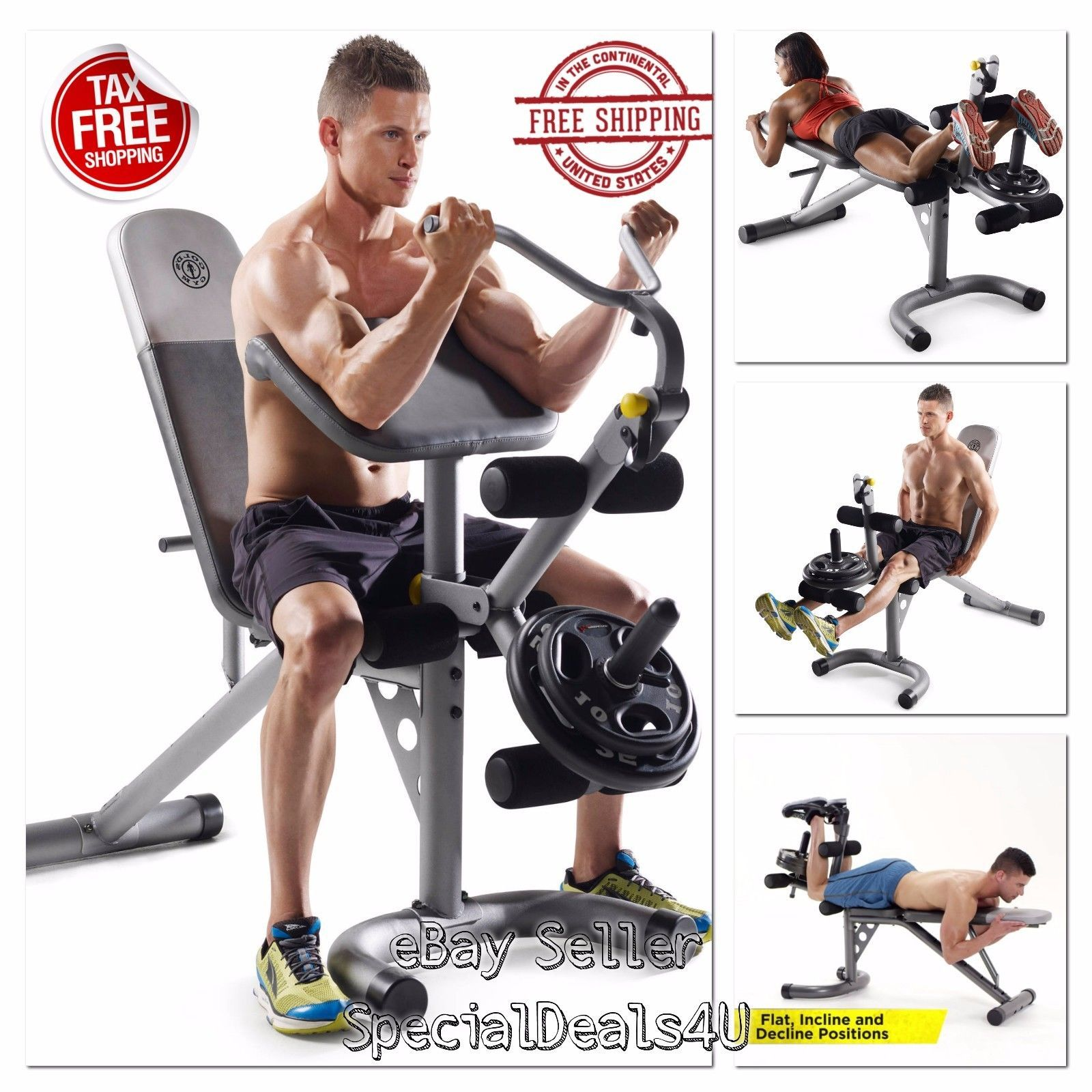 Swell Details About Workout Bench Weight Home Gym Fitness Exercise Pdpeps Interior Chair Design Pdpepsorg