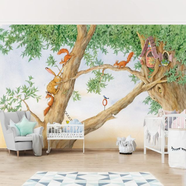 Selbstklebende Tapete Kinderzimmer Josi Hase Wohnung