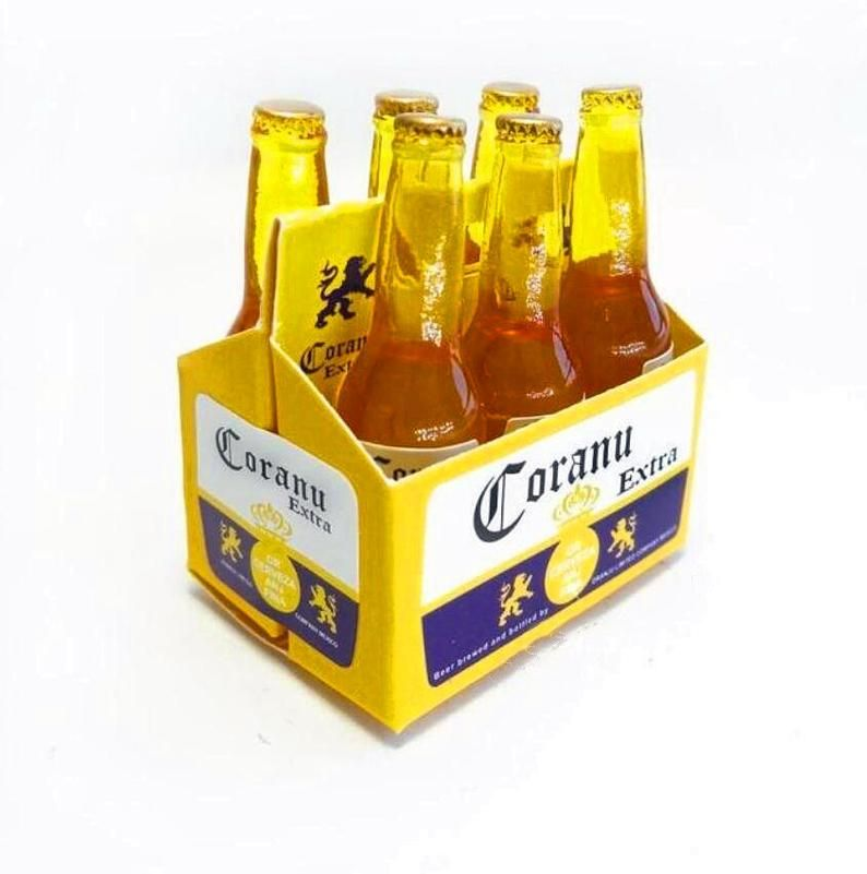 "1//6 Bottle of Corona Beer Accessory Toy for 12/"" HOT TOYS Action Figure"
