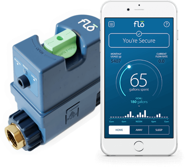 Flo Leak Detection System Flo Home Water Control And Monitoring Cool Items Smart Water Home Protection