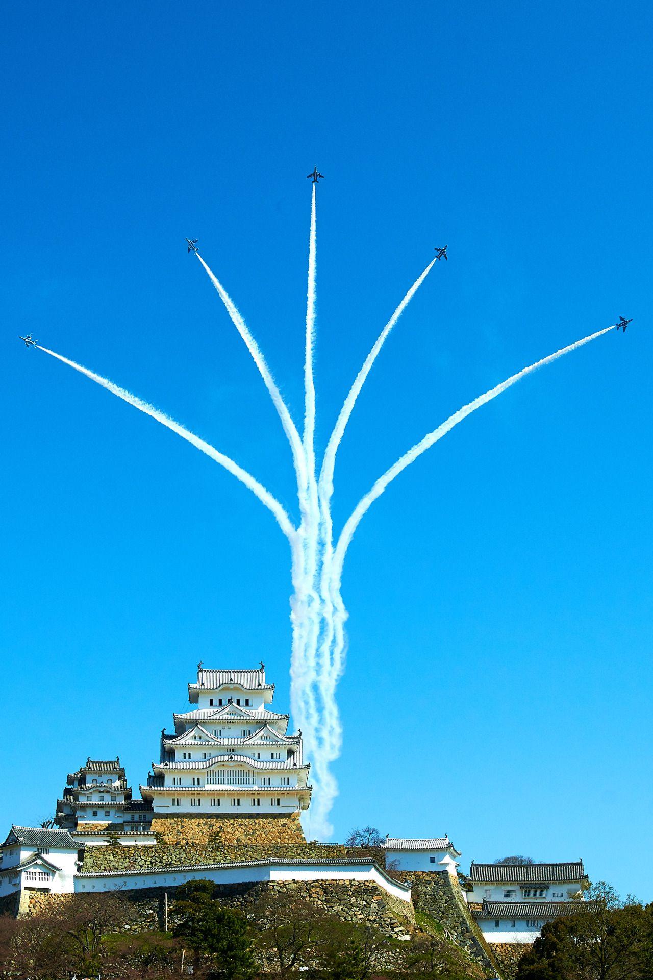 megazaled: 姫路城改築記念&ブ-ルインパルス:PHOTOHITO