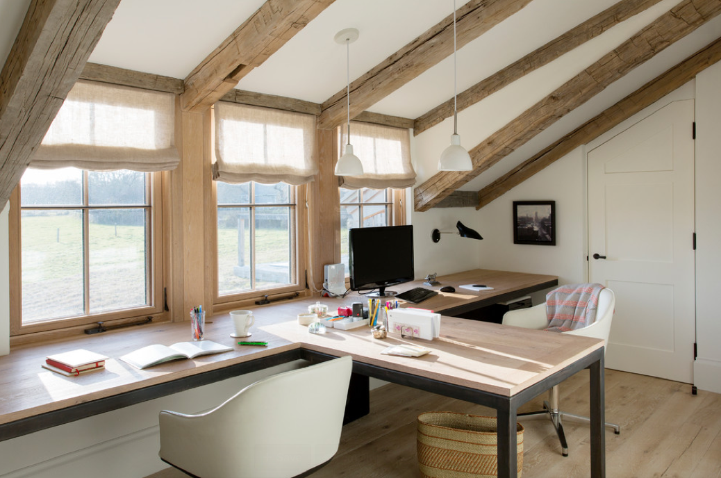 Ideas For A Shared Home Office Space Avec Images Bureau