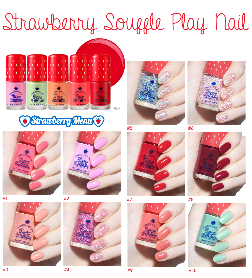 etude house berry delicious nail polish | Nails | Pinterest | Etude ...