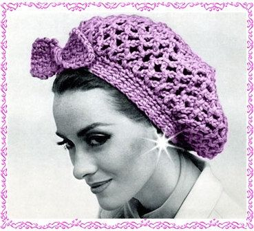 PDF Vintage snood hair net Pattern head wrap by GrandmaHadItGoinOn ...