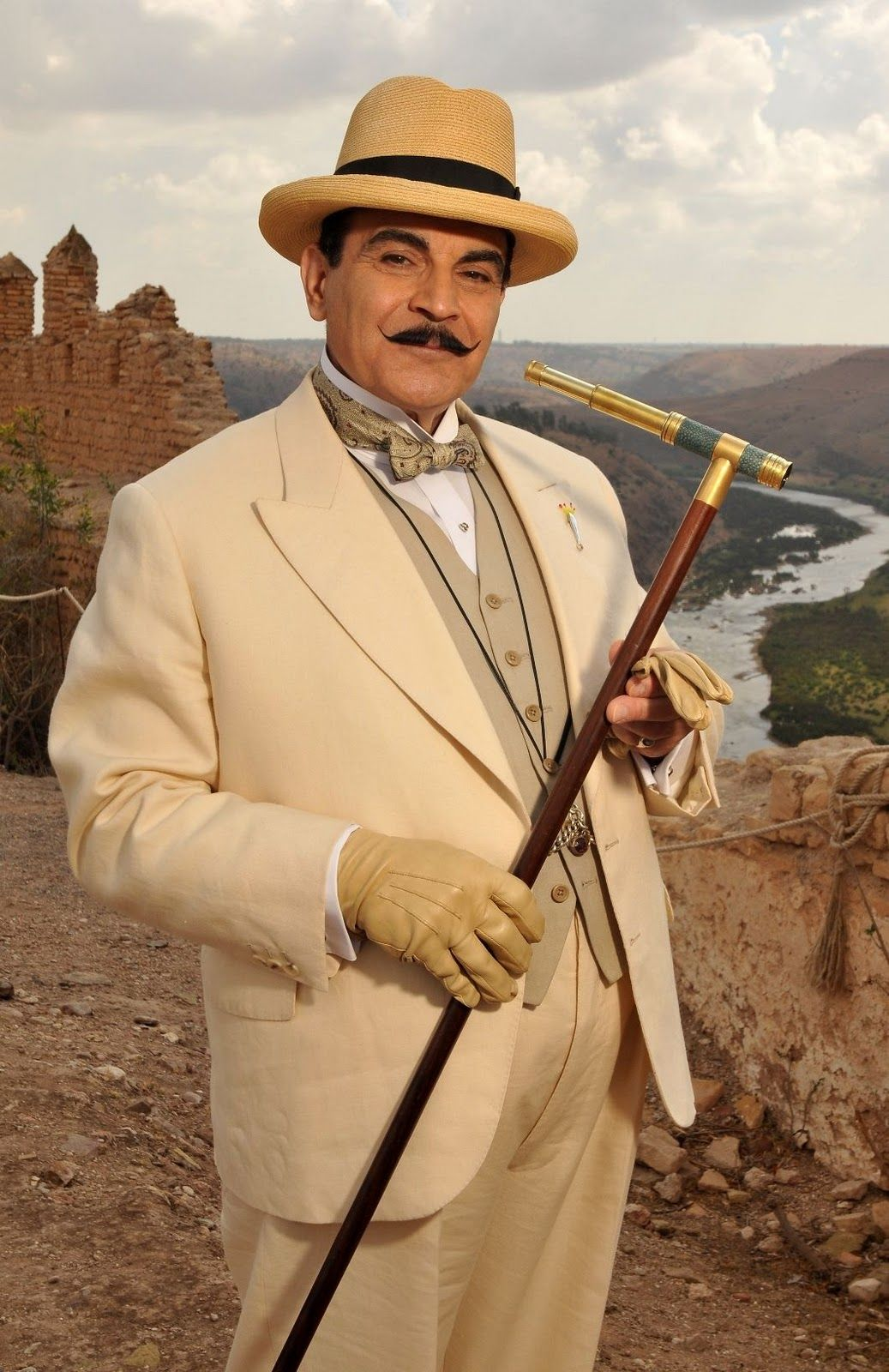 agatha christie poirot  David Suchet as Hercule Poirot in
