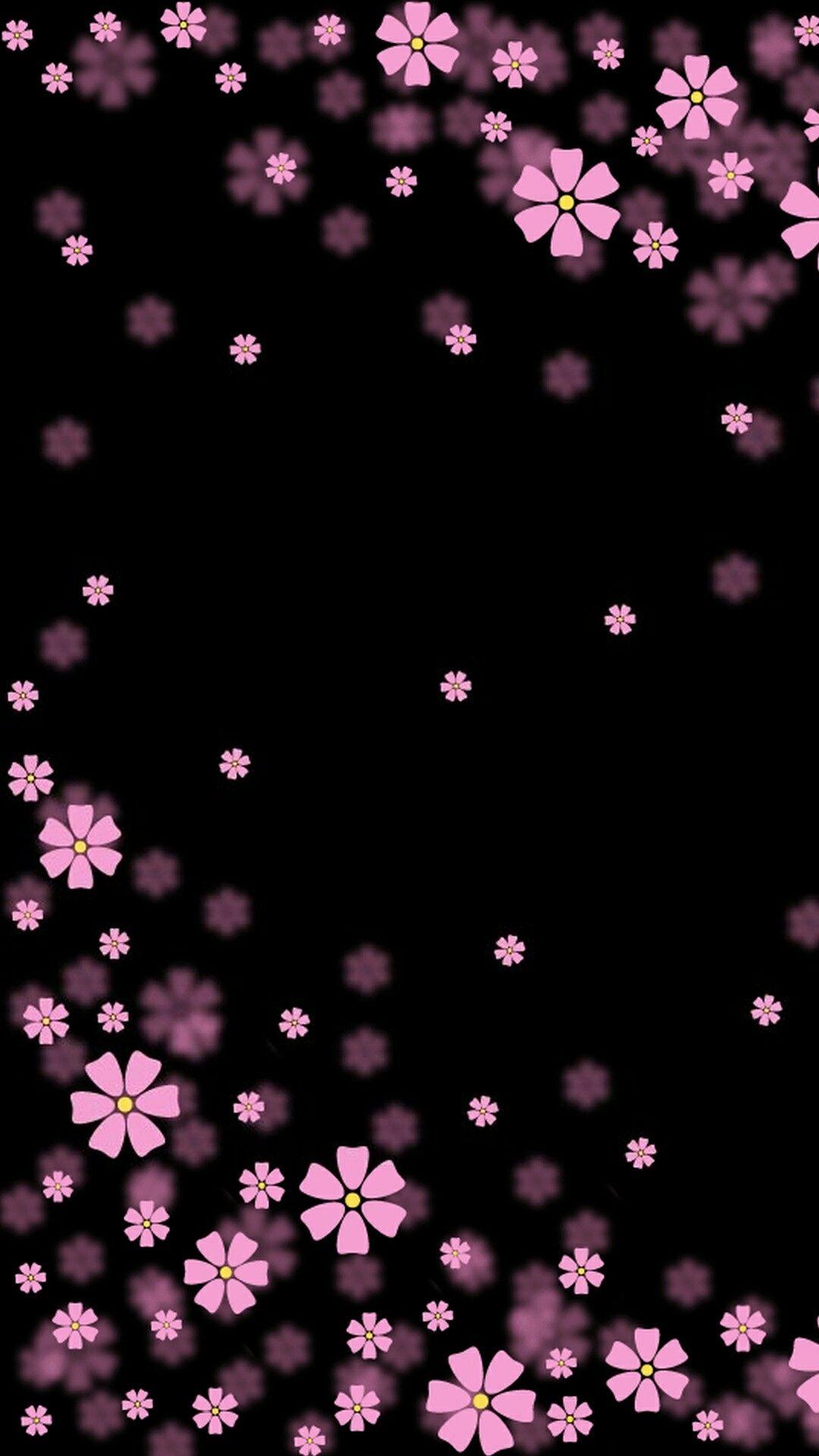 Download Whatsapp Background Wallpaper Pink Flower Desktop