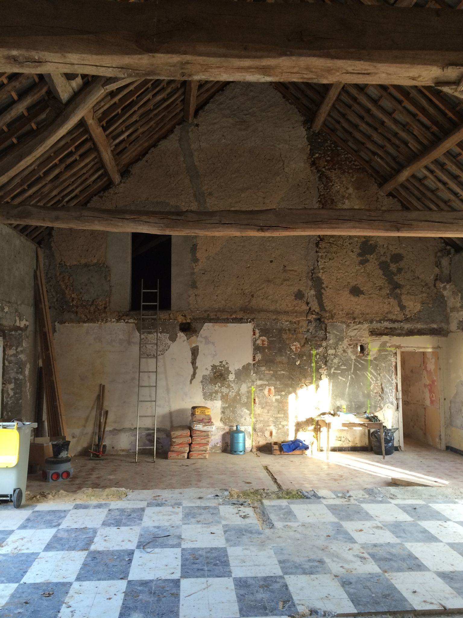 Longere Contemporaine Dans L Yonne Cote Maison Renovation