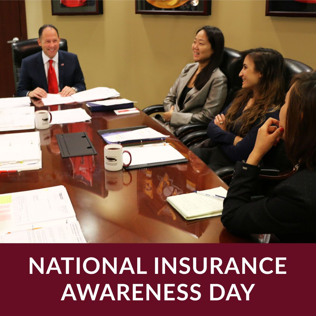 On National Insurance Awareness Day Take Time To Call Your Insurance Agent And Review Your Insurance Policy Your Agent Can Group Insurance National Insurance