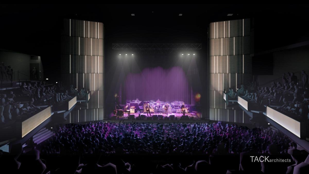 What's new with La Vista's indoor/outdoor music venue