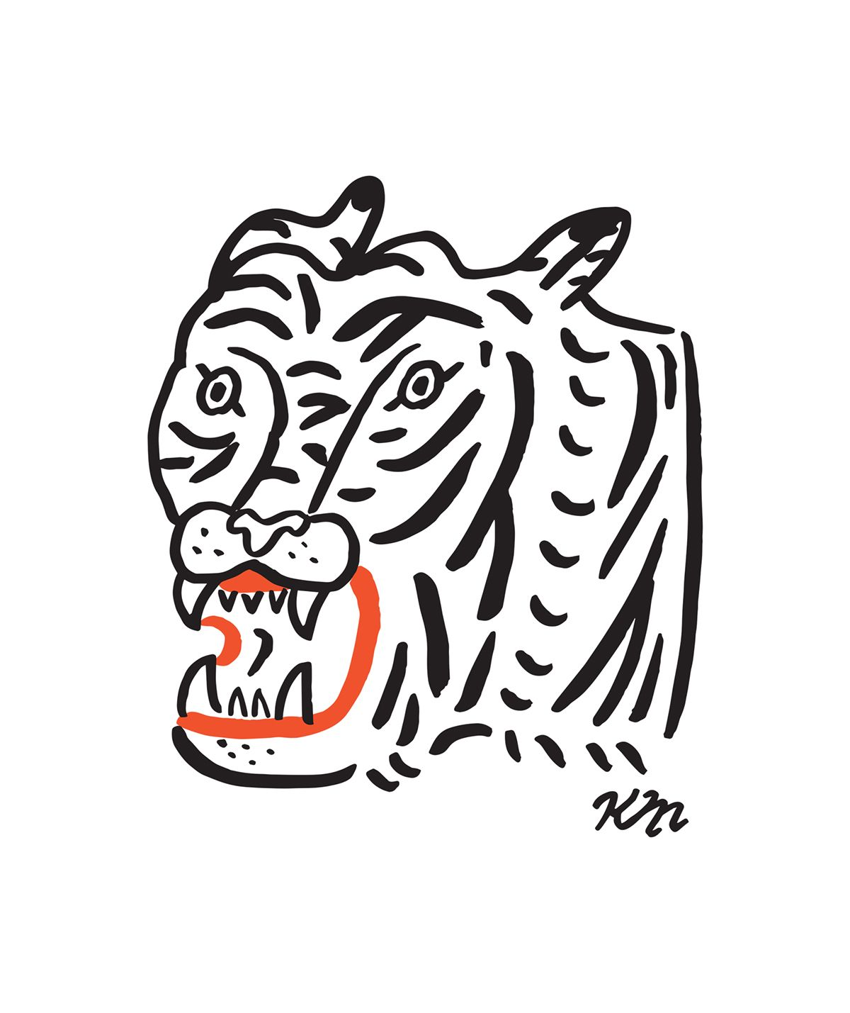 Check out this behance project tiger shirt httpswww