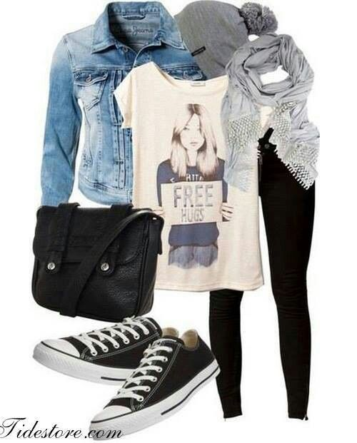 Ok... This is just too many converse outfits ..... But I love them!!!