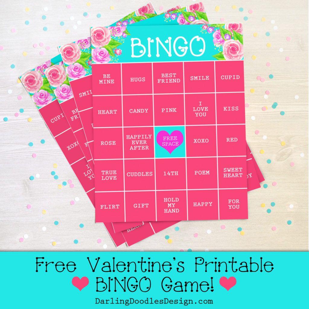 Free Printable Valentine S Day Bingo Game