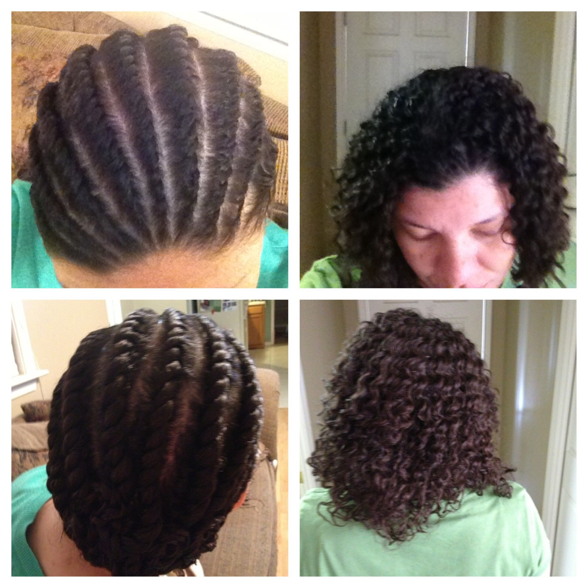 Flat Twists On Relaxed Hair   214 Best hair ideas images ...