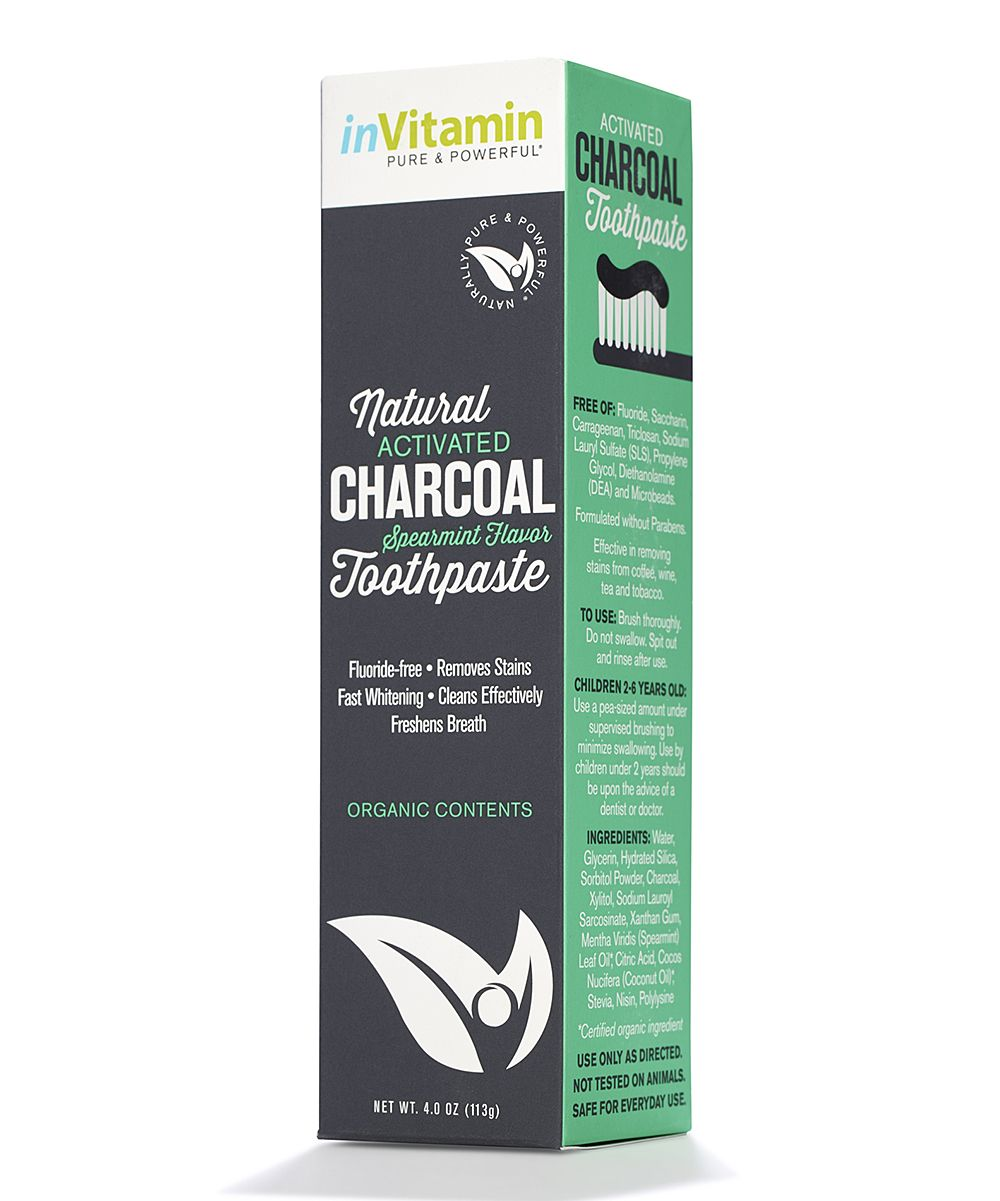 Spearmint Whitening Charcoal Toothpaste | Products