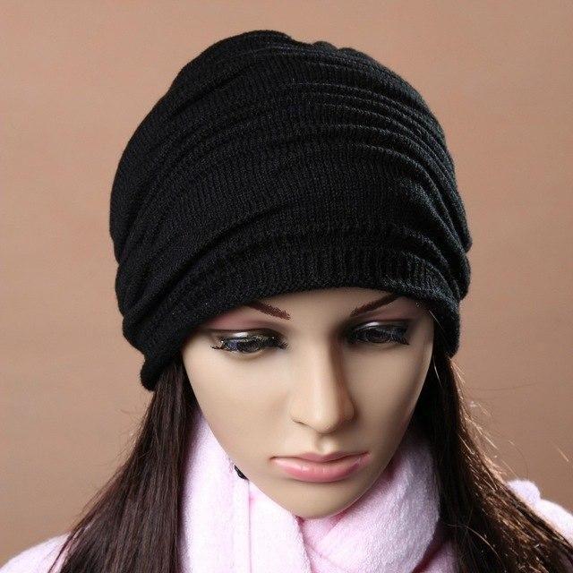 fcf39423610 Sunfree 2018 New Hot Sale Unisex Men Women Winter Hat Baggy Beanie Knit  Crochet Slouch Cap Brand New High Quality Dec 20