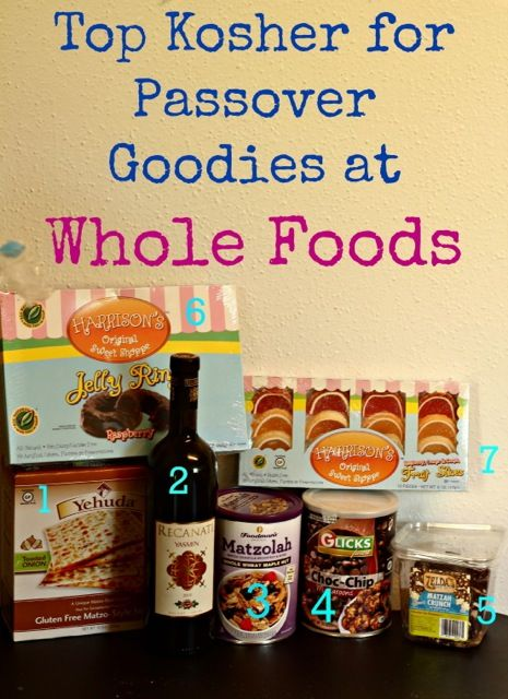 best kosher for passover items at whole foods
