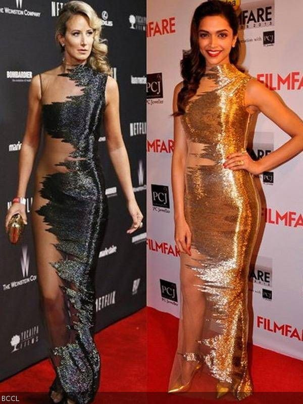 Celebrity Copycat Costumes Deepika Padukone Dresses Ball Dresses Bollywood Celebrities