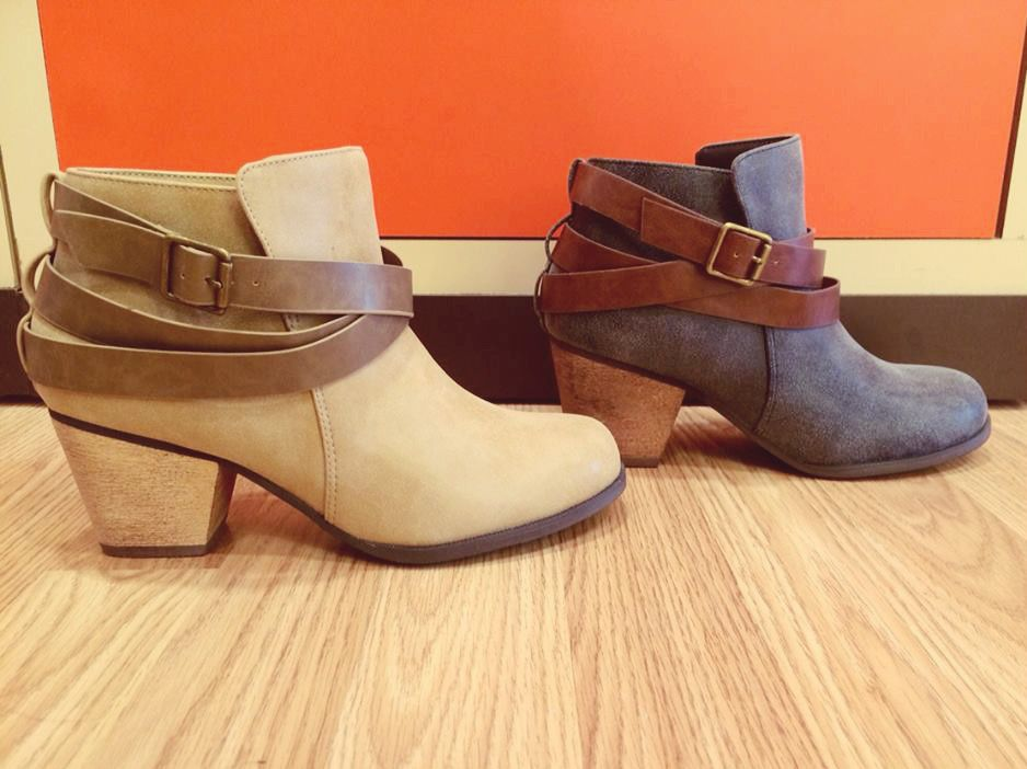 Hey, shoe lover! Don't miss out on these Chrissy #booties! Comfy and cute, this slip-on style will become your wardrobe staple in no time!