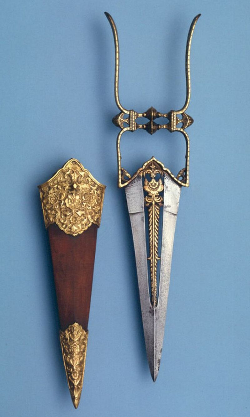 Dagger (Katar) Dated: early 19th century Culture: Indian ...