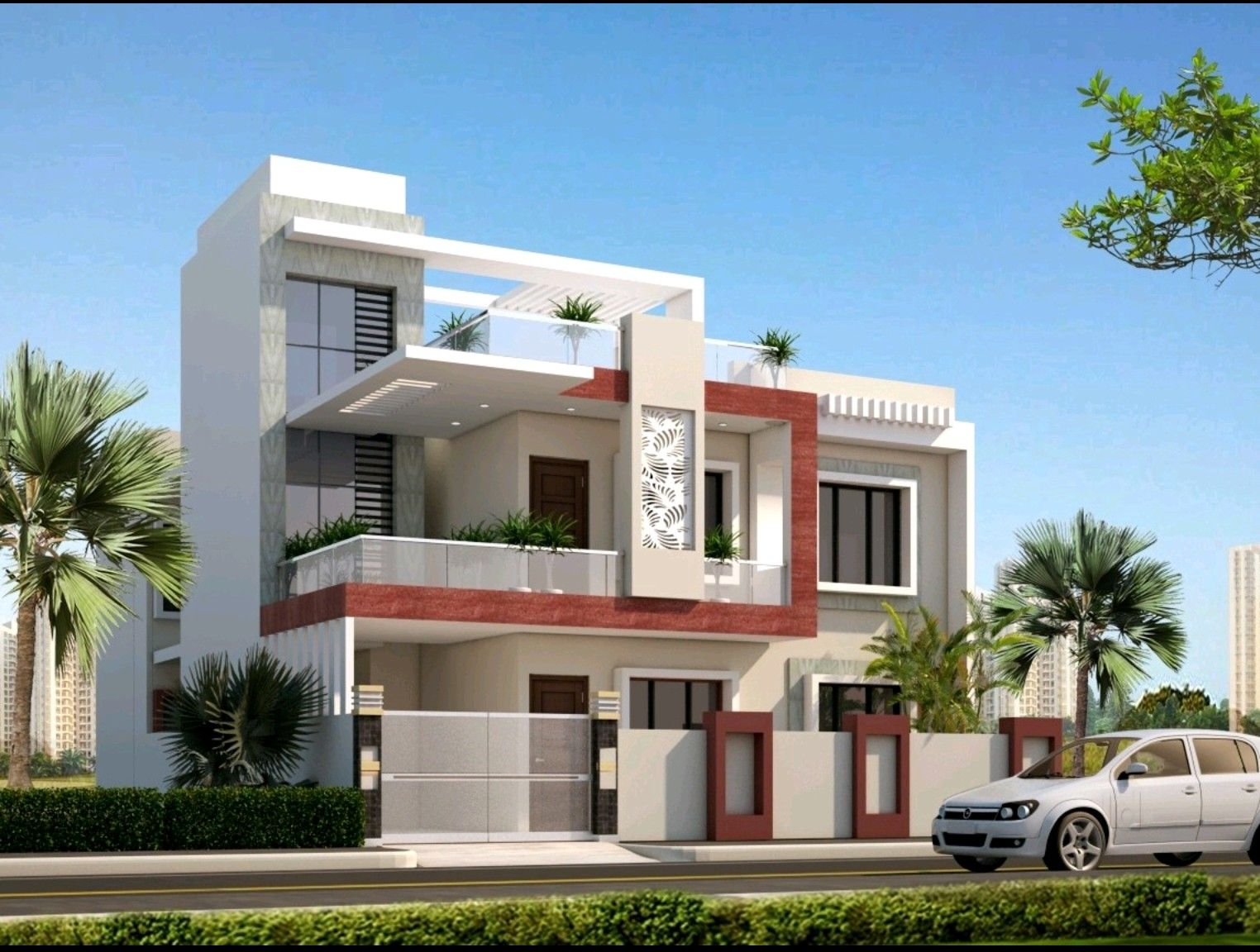 Pin by Mayank Singh on Houses | Duplex house design, House ...