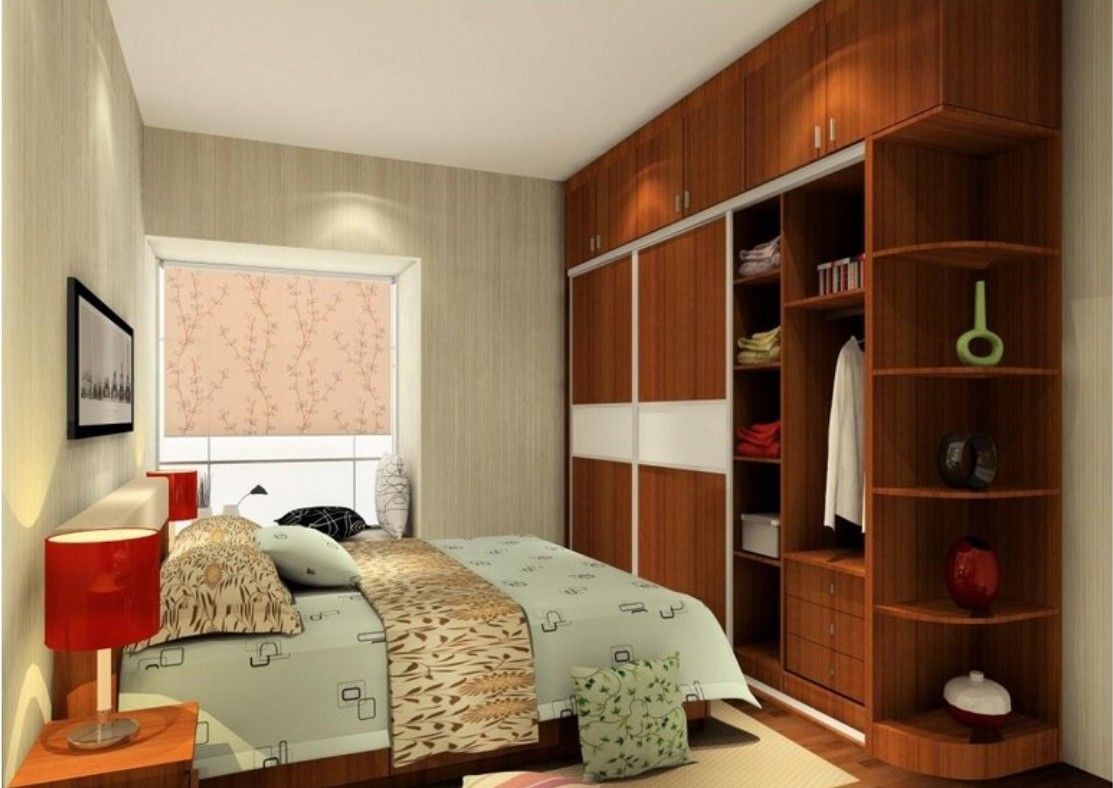 Small Living Room With Trilling 3D Design Work With Sliding Box Works