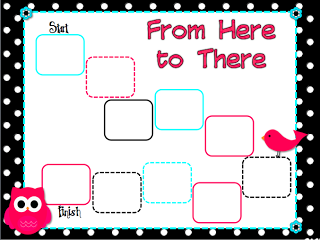 Kickin' It With Class: From Here to There, a place value freebie