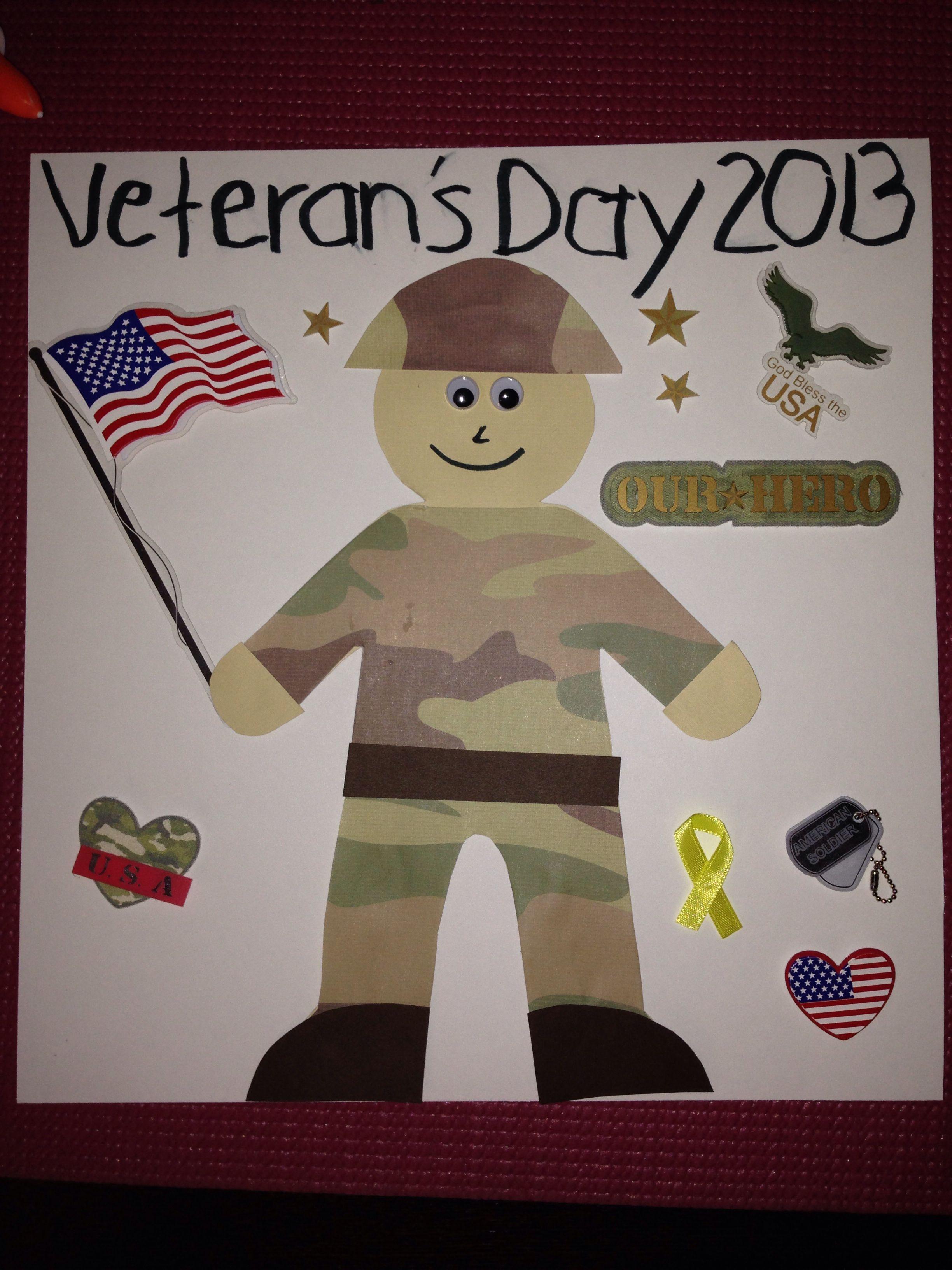 Veteran S Day Poster For Ds School