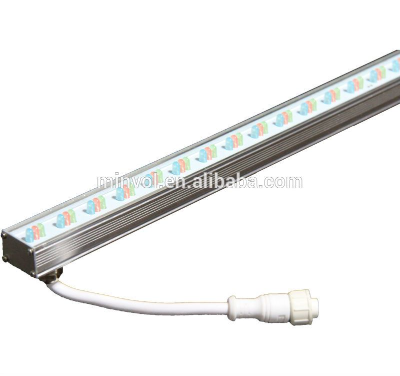 Dmx Remote Controlled Rgb Led Linear Light Led Strip Facade Wall Decorating Ip65 Rgb Dmx Led Parking Lot Lights Led Lights Linear Lighting