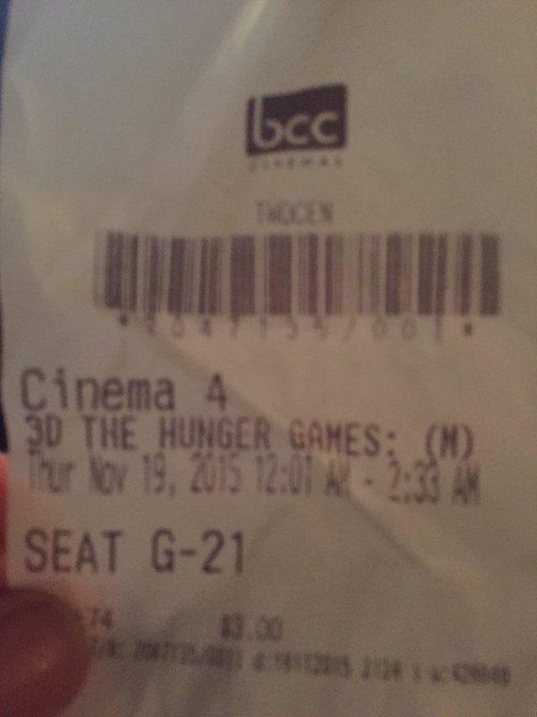 Hunger Games #MockingjayPart 2 - the final Hunger Games installment.