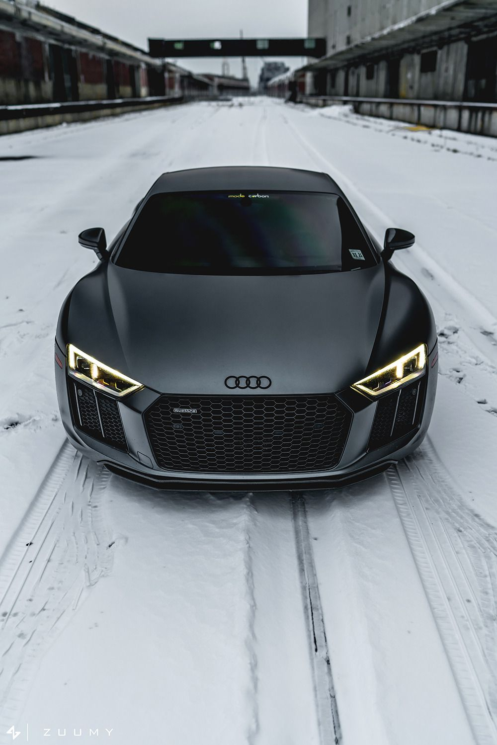 Motivationsforlife Matte Daytona Grey Audi R8 V10 Plus By Sam A