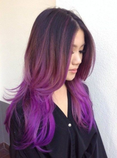 40 Versatile Ideas Of Purple Highlights For Blonde Brown And Red
